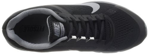 NikeZoom Structure +17 - Scarpe Running Uomo Nero (Schwarz (Black/Reflective Silver-Clear Grey-Summit White))