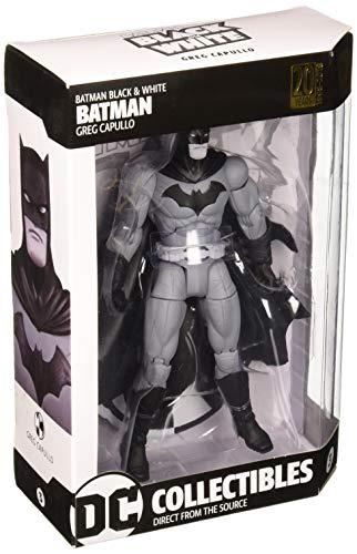 DC Comics Schwarz & Weiß Batman Action-Figur By Greg Capullo (Dc Universe Action-figuren Batman)