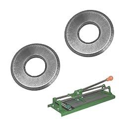 2pc 1/2 Tungsten Carbide Replacement Scoring Wheel Blade for Manual Tile Cutter