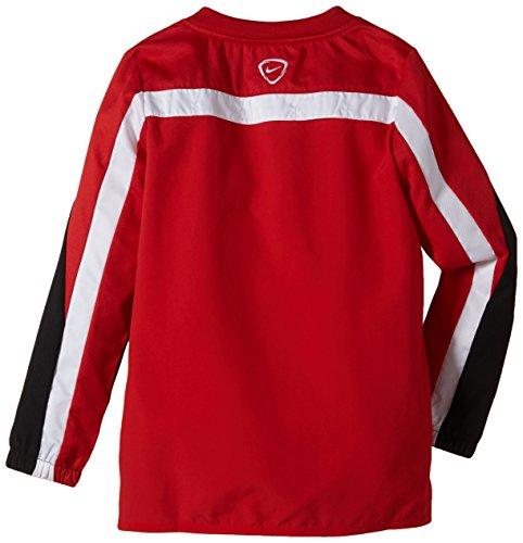 NIKE Herren Sweatshirt Squad 14 Shell University Red/Black/White