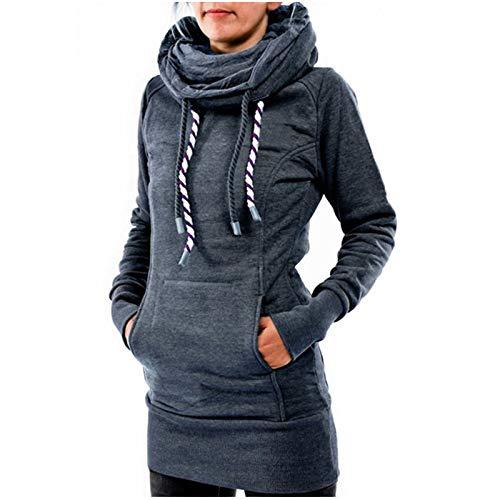 (CY'S Lange Wolle samt und Kleidung in Kapuzen Kleiderschrank)