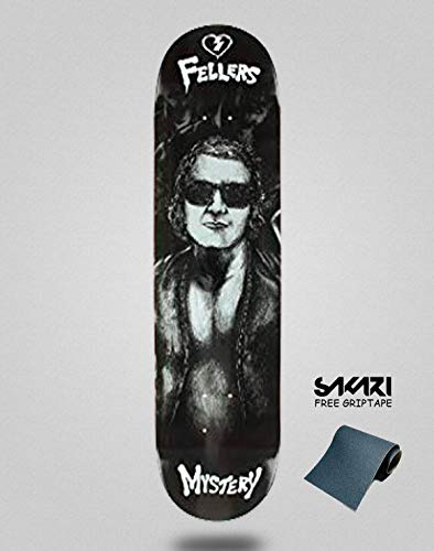 lordofbrands Monopatín Skate Skateboard Deck Mystery FELLERS Warriors 8.125
