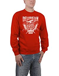 Touchlines Herren Pullover Delorean Machine
