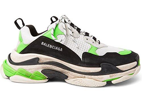 d50d489279706f TOPSaleTEN Unisex Balenciaga Triple S Sneakers Mr. Porter Neon Green Damen  Herren Schuhe Trainer Sport