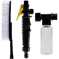 Cepillo suave para lavar el coche, interruptor manual y botella de espuma Rzdeal, accesorio