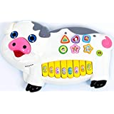 ICE TREE Little Pig Electronic Organ – Plastic Piano Musical Learning Toy