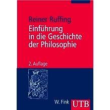 Einführung in die Geschichte der Philosophie