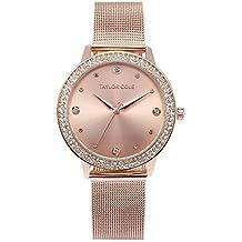 aeb66498ce19 Taylor Cole TC071 - Reloj Mujer Cuarzo de Acero Inoxidable Rosa Dorado