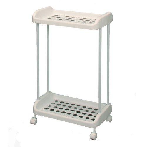 Cesta para la ropa sucia con ruedas para carrito de golf con cestas, btr-3, blanco