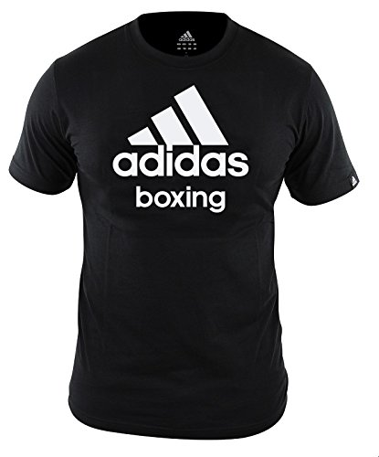 Adidas T-Shirt Boxing, schwarz, L