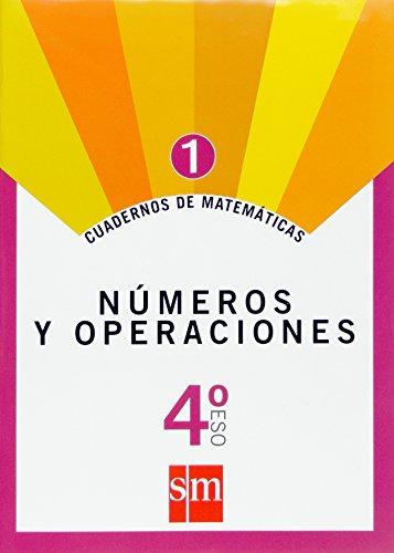 Cuaderno 1 de matemáticas. 4 ESO. Números y operaciones - 9788467515749