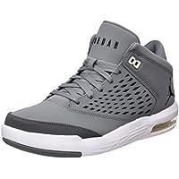 Nike Son of Force Mid (GS) Zapatillas de Baloncesto, Niños, Negro, 37 1/2