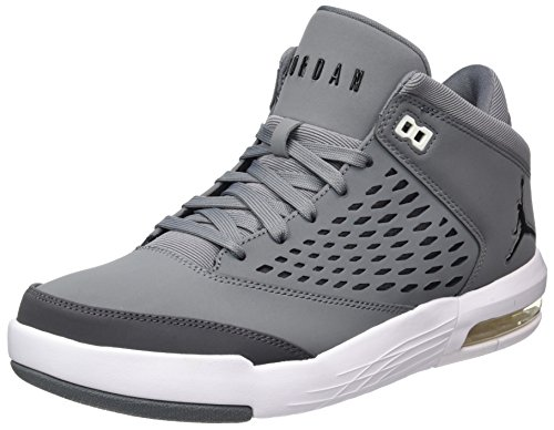Nike Herren Jordan Flight Origin 4 Basketballschuhe, Grau (Cool Grey/Black/Dk Grey/White), 42 EU Männliche Jordan Sneakers