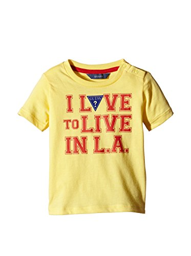 Guess T-Shirt Ss gelb 9 Monate (74 cm)
