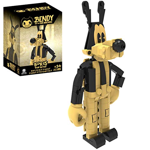 Basic Fun! 16707 Bendy Buildable Figs : Boris The Wolf