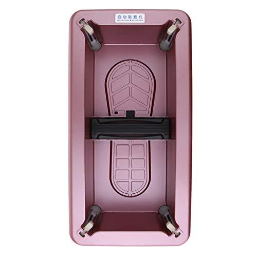 Hellery Dispensador Automático De La Cubierta del Zapato para El Estéril del Laboratorio De Ministerio del Interior - Púrpura, Individual
