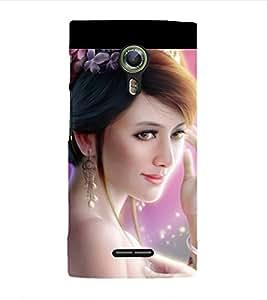 Print Masti Designer Back Case Cover for Alcatel Flash 2 :: Alcatel Onetouch Flash 2 (Bengal Hand Eyes Eyelashes)