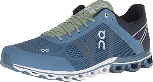 ON Zapatillas Cloudflow Azul/Verde Talla 42.5
