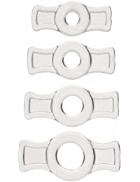 TitanMen Cock Ring Set Clear