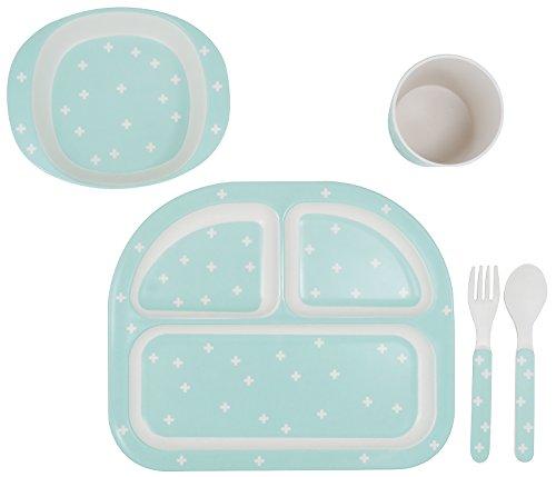 Kindsgut Juego de platos para su bebé, juego de vajilla para niños y niñas...