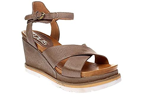 Mjus APRIL - Damen Schuhe Sandale Keilsandalette - 872007-0201 6048-malva, Größe:38 EU
