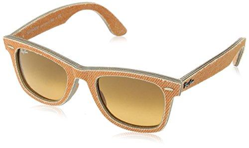 Ray Ban Unisex Sonnenbrille Wayfarer Gestell: Jeans, Gläser: orange verlauf braun 11653C), Medium (Herstellergröße: 50)