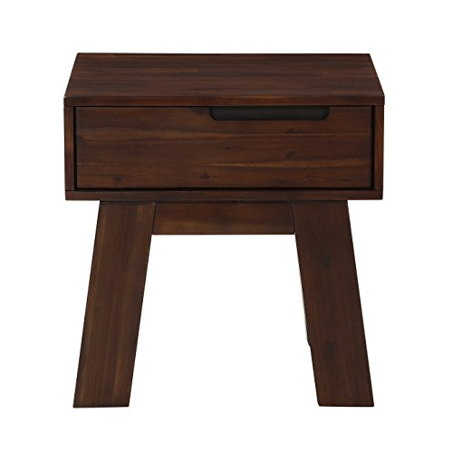 Modus Furniture 7Z4821 Portland Couchtisch, mittelgroß, Walnuss Modern End Table braun -