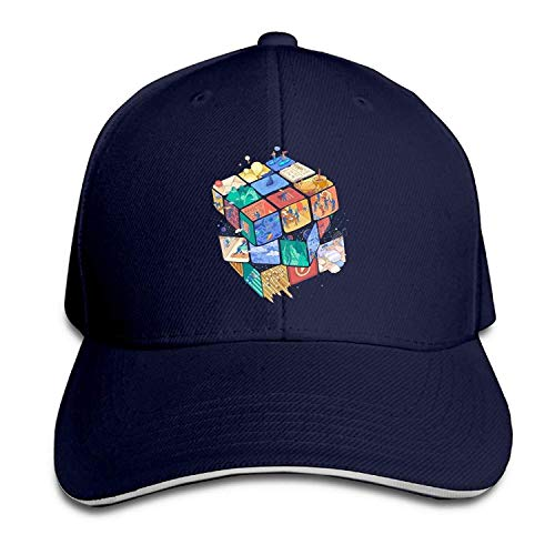 Twin Kostüm City - Voxpkrs Hut Best Food Cities Schnell Trockensport Baseballkappe Baseball Sun Cap Hat Adjustbale