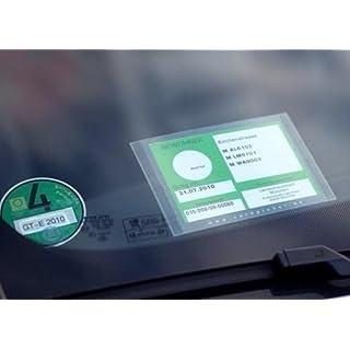 CARDPICKER Schutzhülle Glasmagnet Parkausweis -Parklizenz- selbsthaftend ADAC geprüft