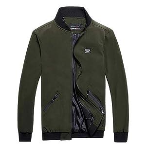 Herren Baseball Jacke Sweatjacke Herbst Winter Bequeme Freizeitjacke Große Größen Übergangsjacke Freizeit Mantel Slim Fit Herbst Coat