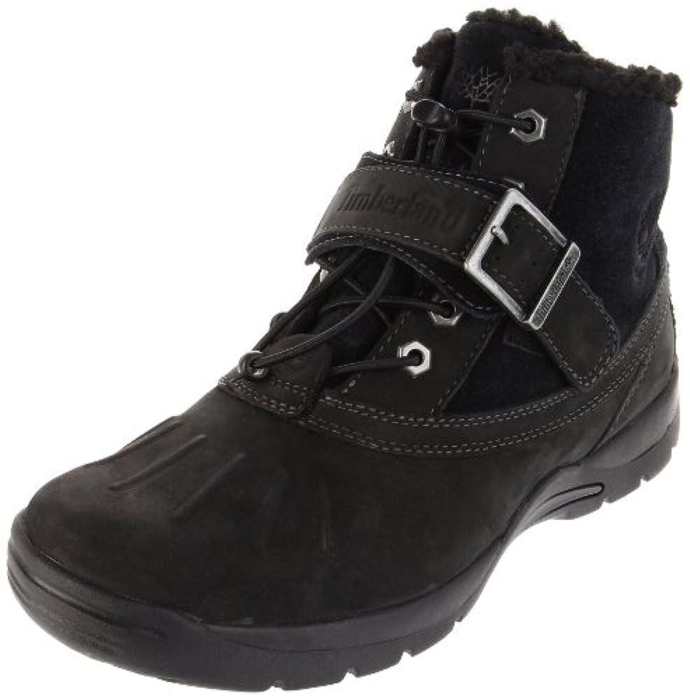 Timberland Mallard Waterproof Mid Bungee with Strap Boot (Toddler/Little Kid/Big Kid),Black,11 M US Little Kid