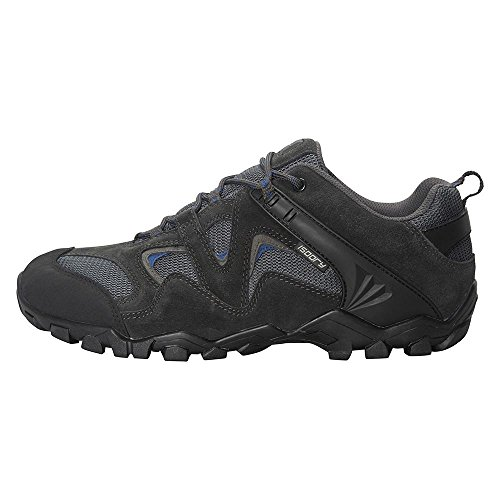 Mountain Warehouse Curlews Men's Waterproof Walking Shoes - IsoDry Membrane with Suede...