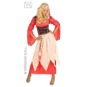 WIDMANN Desconocido Disfraz Medieval de Criada Adulto