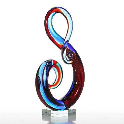 Tooarts Moderne Skulptur Designer Glasskulptur