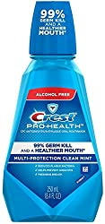 2 Pack - Crest Pro-Health Antiplaque Oral Mouthwash Multi-Protection Mint 8.4 oz