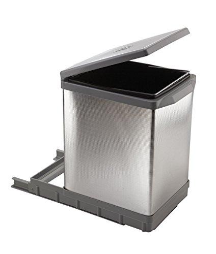 Elletipi PAL609/1AL - Cubo de basura extraíble automático para base