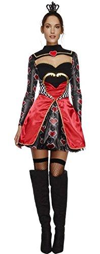 Der Herzen Königinnen Kostüm - Fieber-Königin der Herzen Kostüm