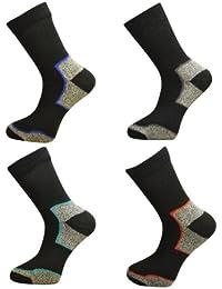 4 Pair Pack Mens Ultimate Walking Socks By Freshfeel Size 6-11
