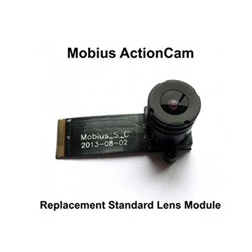 Ersatz Standardobjektiv Modul für den Mobius Action Sport Kamera