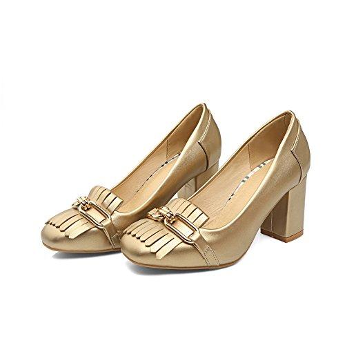 BalaMasaApl10228 - Sandali con Zeppa donna Gold