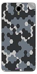 GsmKart IAS2 Mobile Skin for Intex Aqua Star 2 (Black, Aqua Star 2-383)