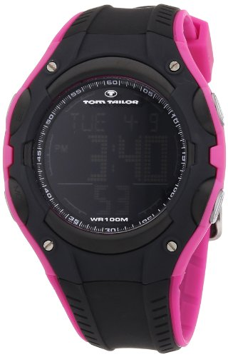 TOM TAILOR Damen-Armbanduhr XL Digital Quarz Plastik 5410101