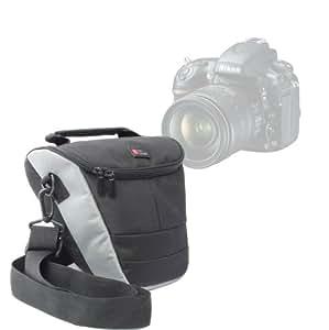 """DURAGADGET Housse étui moyen résistant à l'eau pour Sony SLT-A58K CEC & Cyber-Shot DSC-H300 et Pentax K-50 Reflex numérique 3"""" 16 Mpix appareil photo + bandoulière"""