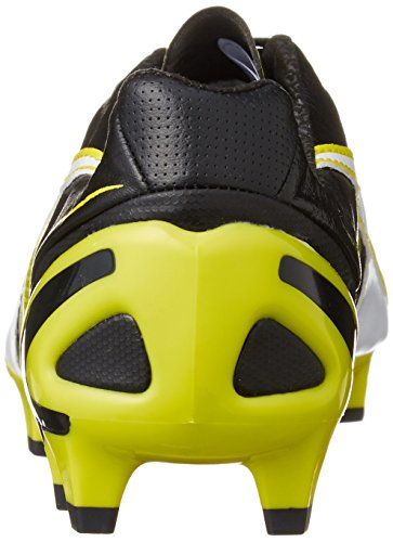 Puma King Ii Sl Fg, Chaussures de football homme Noir - Schwarz (black-white-sulphur spring 01)