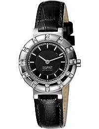 Esprit Collection Damen-Armbanduhr Aphrodite Analog Quarz Leder EL101112F01