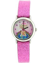 Barbie BB111/A - Reloj de cuarzo para mujer con correa de acero inoxidable, color plateado