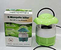 Hackneyed Mini Home Mosquito Lamp Fly Killer No Radiation Electronic Mosquito Black 220V Catching Machine with Night lamp(Mosquito Lamp_Random Color)