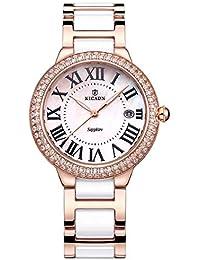 Suchergebnis Auf Amazon De Fur Weisse Keramik Uhr Mit Diamanten Uhren
