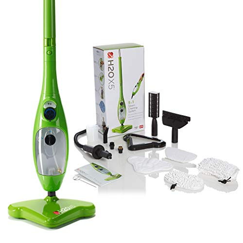 H2O Mop X5 5 in 1 Portable Steam...