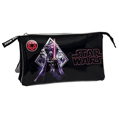 star-wars-darth-vader-estuche-de-tres-compartimentos-color-negro